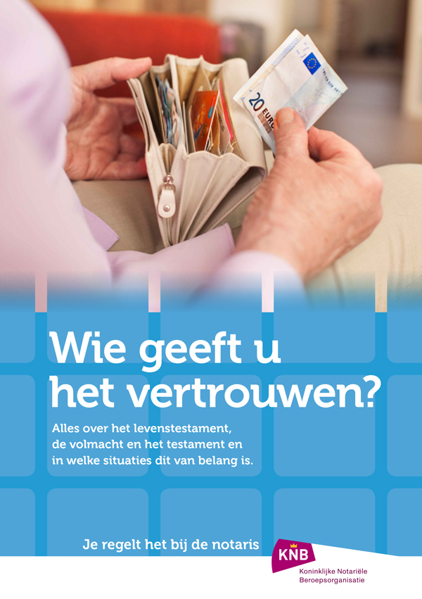 Brochure levenstestament - Meijer Notarissen